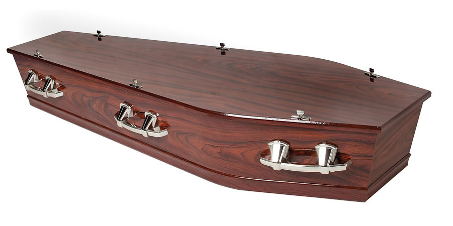 Richmond Mahogany Coffin/Casket