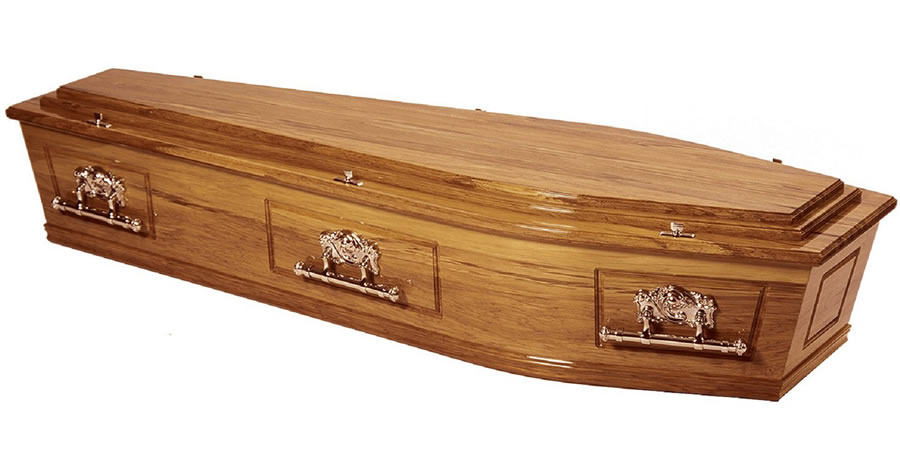 Solid Rimu Coffin/Casket